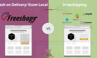 الفرق بين Dropshipping و Cash On Delivery في المتاجر الالكترونية